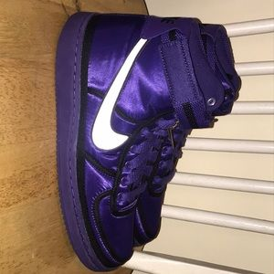 Vandal High Supreme QS (purple). New with tags.